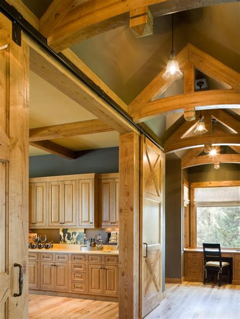 open truss ceiling home design ideas pictures remodel