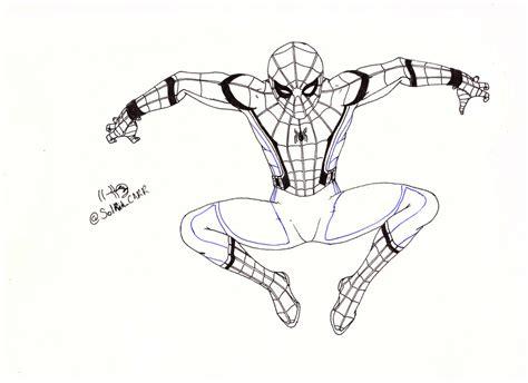imagenes para colorear spiderman spiderman para colorear by solrakyc on deviantart