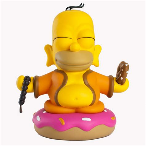 Kid Robot by Product Preview The Simpsons Homer Buddha Kidrobot