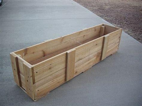 Make A Planter Box by How To Build A Garden Planter Box