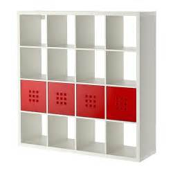 kallax lekman shelf unit with 4 inserts ikea