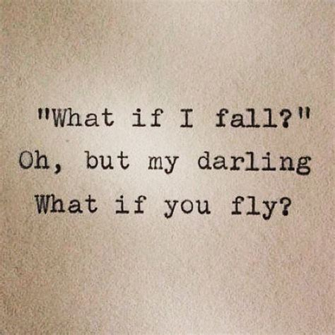 be my meaning quot what if i fall quot oh but my what if you fly