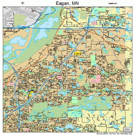 zip code map eagan mn eagan minnesota street map 2717288 images frompo