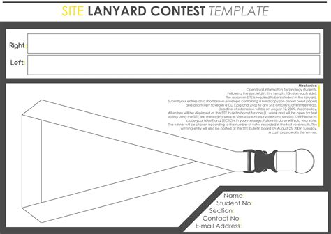 lanyard design template lanyard template by pococoy on deviantart
