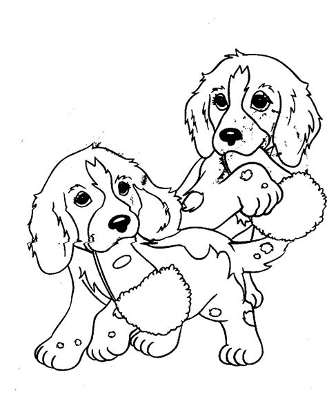 coloring book pages dogs free printable puppies coloring pages for