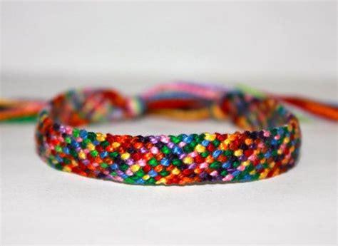 rag rug friendship bracelet rag rug friendship bracelet
