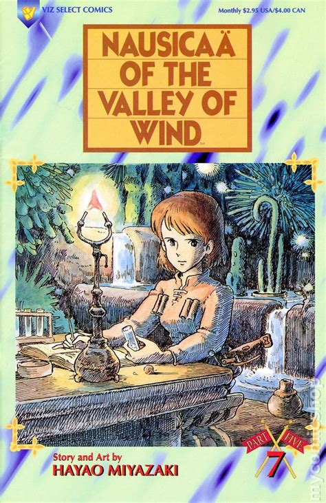 nausicaa of the valley of wind part 5 1995 comic books