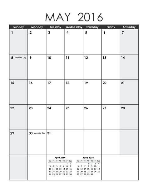 blank template calendar may 2016 may 2017 weekly printable calendar blank templates