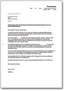Musterbrief Reklamation Handwerkerleistung Unterrichtung Des Arbeitnehmers 252 Ber Den Betriebs 252 Bergang De Musterbrief