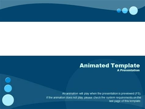 how to free animated powerpoint templates with