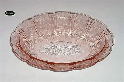 pattern names for depression glass 40 best images about cherry blossom depression glass on