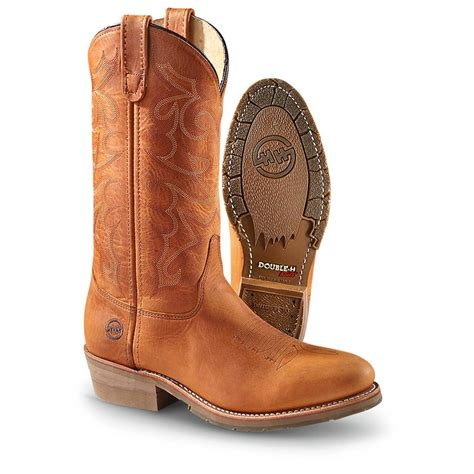 mens cowboy work boots s h boots 174 domestic western work boots saddle