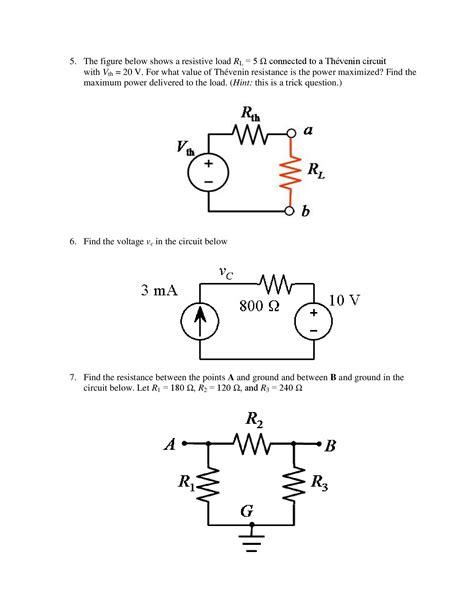 persamaan transistor c5200 resistor divider thevenin equivalent 28 images transistors thevenin equivalent of voltage