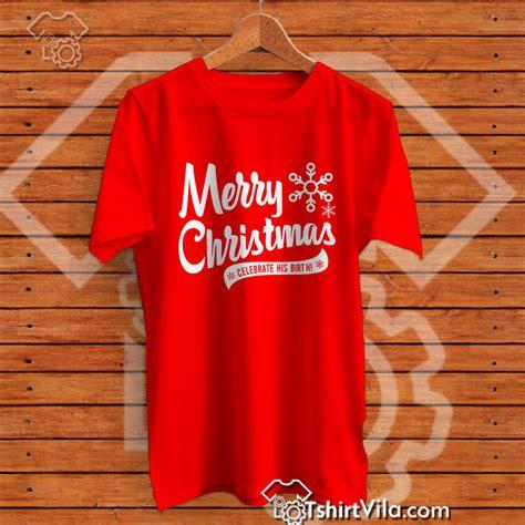 merry christmas celebrate  birth christmas tshirt tshirt adult unisex