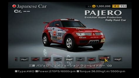 Gts Pajero mitsubishi pajero evolution rally raid car 03 gran