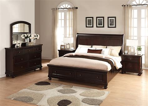 Craigslist King Bedroom Set by Bedroom Brishland Rustic Cherry Storage Bedroom Set