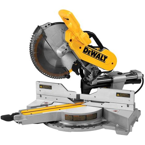 dewalt 15 12 in sliding compound miter saw dws779