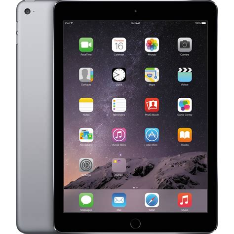 Apple Air 2 16gb apple 16gb air 2 wi fi only space gray mgl12ll a b h