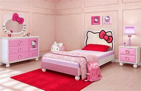 Ranjang Helo Kity desain kamar tidur anak perempuan hello kamar