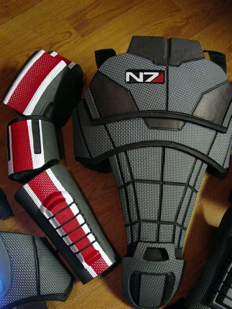 mass effect n7 armor for sci fi action video game geeks