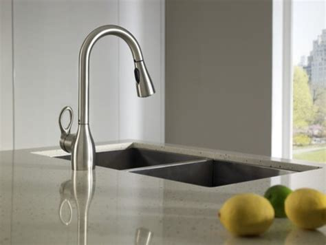 Moen Kleo Kitchen Faucet by Moen Kleo Spot Resist Stainless One Handle High Arc
