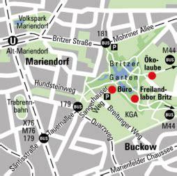 Britzer Garten Lageplan by Umweltbildung Naturschutz In Berlin Land Berlin