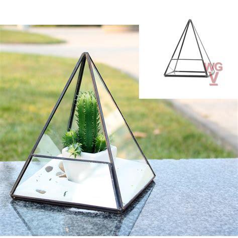 Terrarium Kaca Glass Terrariums Triangle geometric terrariums glass vases wholesale glass vases