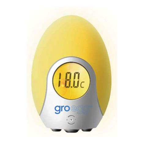 gro egg room thermometer buy grobag gro egg at mighty ape nz