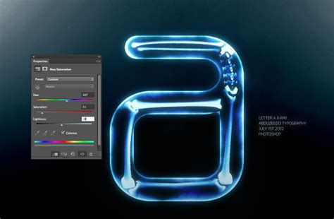 photoshop tutorial x ray effect easy x ray typography in photoshop