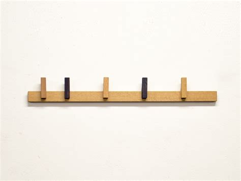 Wall Hanging Coat Rack by Wall Mounted Wooden Coat Rack Coat Rack By Agustav