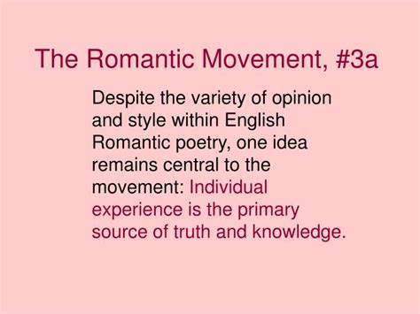 british women romantic poets 1789 1832 ppt the romantic movement 1798 1832 powerpoint