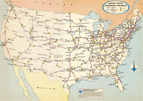 map of us states with interstates interstate guide all you need to about interstate