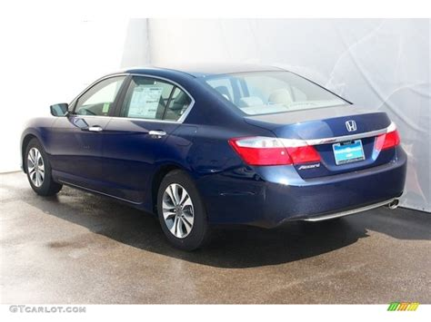obsidian blue color 2013 obsidian blue pearl honda accord lx sedan 71525624