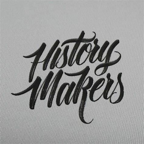 tattoo lettering history history makers by hand type typography design pinterest