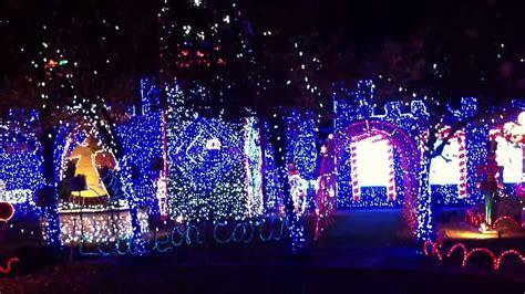 deans house on christmas tree lane youtube