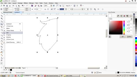 tutorial corel draw x5 for beginner how to make a logo with coreldraw x4 x5 x6 x7 x8 last