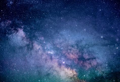 wallpaper starry sky blue sky milky  stars
