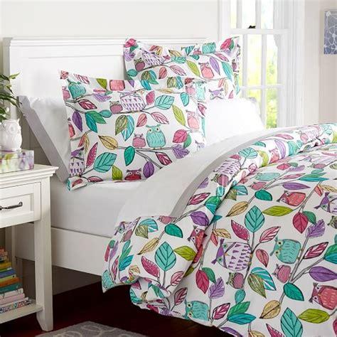 pbteen comforters who s hoo duvet cover sham pbteen