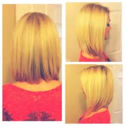 cutes aline hair long bob i just got done a line cut hair pinterest
