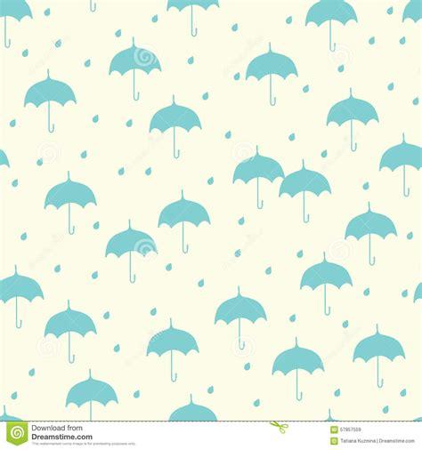 umbrella fly pattern umbrella seamless pattern vector illustration
