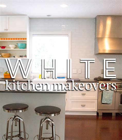 white kitchen makeovers classic white kitchen makeovers andrea s notebook