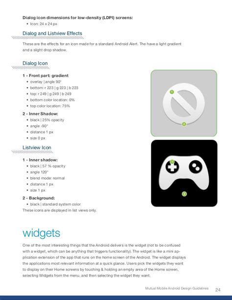 android icon design rules android design guidelines
