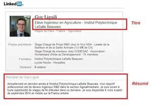linkedin sle resume resume linkedin resume format pdf