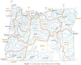 map of oregon rivers and lakes list of rivers of oregon