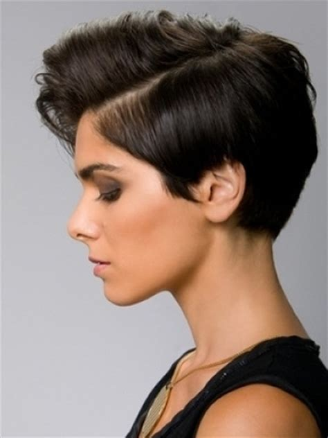 how to style hair that is shorter in the back than the front how to style short hair for women bakuland women man