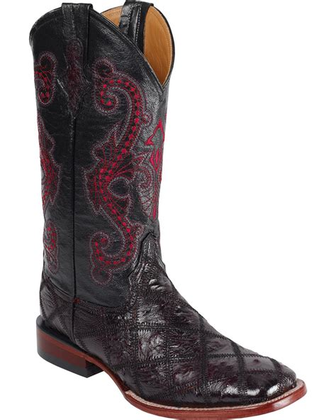 Ferrini Patchwork Boots - ferrini s ostrich patchwork western boot square