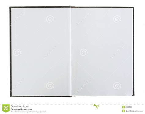 picture of an open book with blank pages open book with blank pages royalty free stock photos