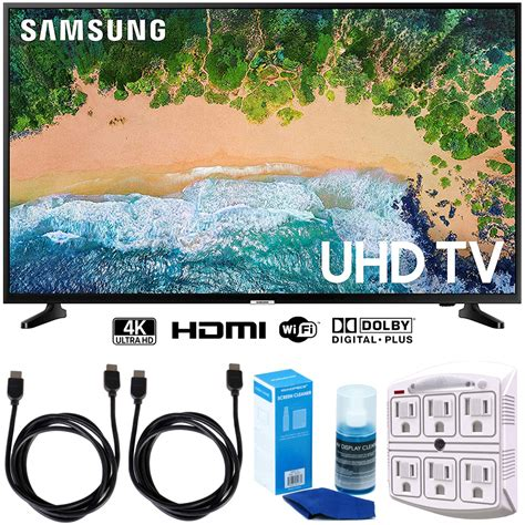 samsung un50nu6900 50 quot nu6900 smart 4k uhd tv 2018 w accessories bundle 887276294520 ebay