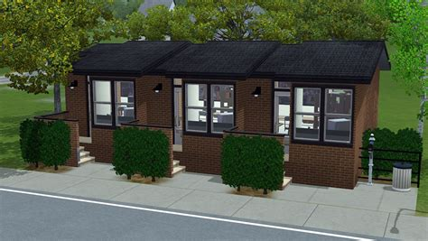mod the sims affordable 2 bedroom mobile home for sale mod the sims nona 10x15 3 unit apartment building no