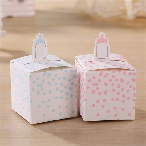 Jual Baby Box Chocolate by Aliexpress Buy Classic Baby Bottle Favor Box